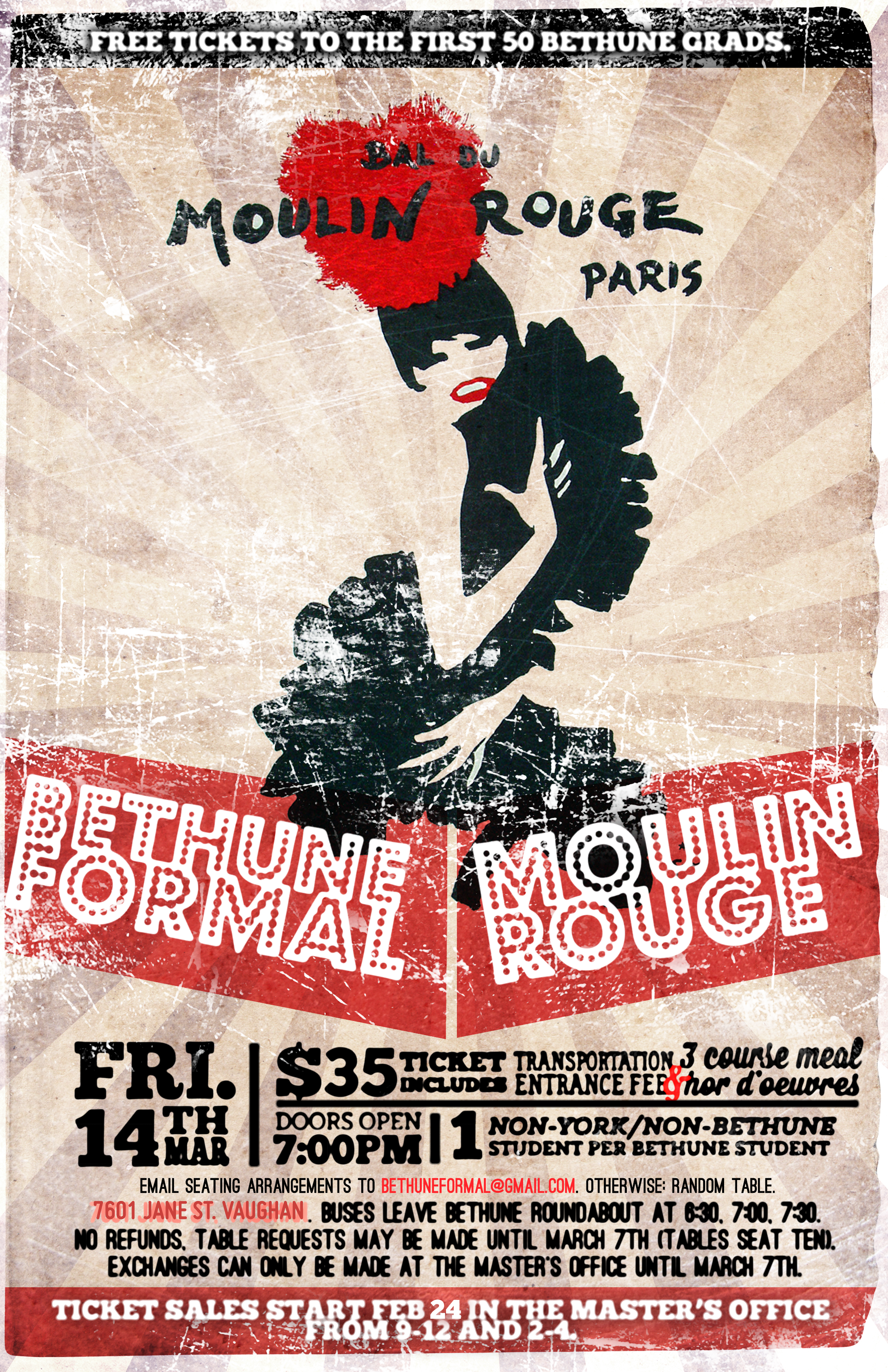 Bethune Formal: Moulin Rouge
